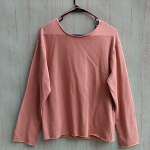 NWT Zara Trafaluc sweatshirt sz s